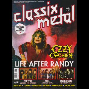 Classix! Metal - Ozzy Osbourne - n. 37 - bimestrale - giugno - luglio 2019