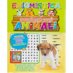 Passatempi Con Gli Animali - Enigmistica - n. 31 - bimestrale - giugno - luglio 2019 -