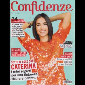 Confidenze - n. 24 - 4 giugno 2019 - settimanale