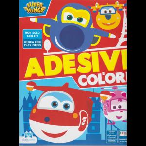 Super Wings Adesivi - E Colori - n. 15 - giugno - luglio 2019 - bimestrale -