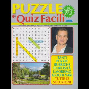 Puzzle E Quiz Facili - n. 268 - bimestrale - marzo - aprile 2019 - 68 pagine