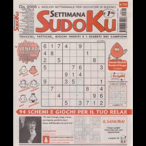 Settimana Sudoku - n. 721 - settimanale - 7 giugno 2019 -