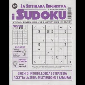 La settimana enigmistica - i sudoku - n. 31 - 21 febbraio 2019 - settimanale