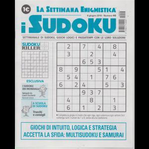 La settimana enigmistica - i sudoku - n. 46 - 6 giugno 2019 - settimanale