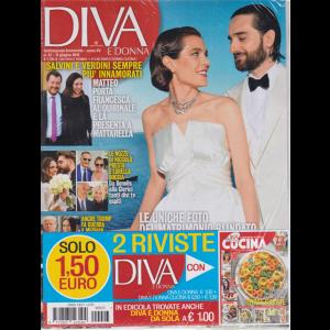 Diva E Donna+ - Cucina - n. 23 - 11 giugno 2019 - settimanale femminile - 2 riviste