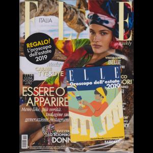Elle + in regalo l'Oroscopo dell'estate 2019 - n. 22 - setimanale - 15/6/2019
