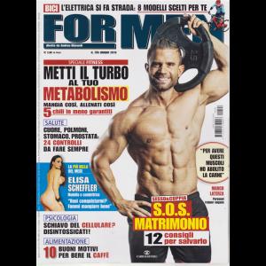 For Men Magazine - n. 196 - giugno 2019 - mensile