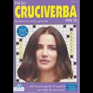 Facili Cruciverba Per Te - n. 37 - bimestrale - 3/6/2019 - Luisa Ranieri