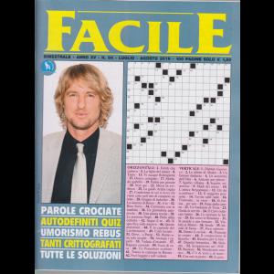 Facile - n. 84 - bimestrale - luglio -agosto 2019 - 100 pagine