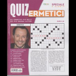 Quiz Ermetici - n. 3 - trimestrale - giugno - agosto 2019 -
