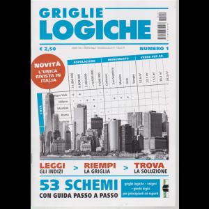 Griglie Logiche - n. 1 - bimestrale - giugno - luglio 2019 -