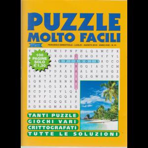 Puzzle Molto Facili - n. 91 - bimestrale - luglio - agosto 2019 - 100 pagine