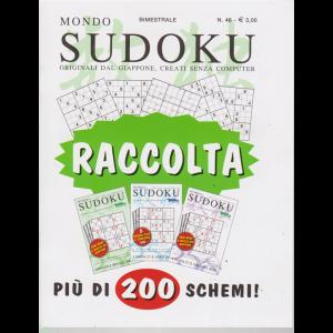 Raccolta Mondo sudoku - n. 46 - bimestrale - giugno - luglio 2019 -