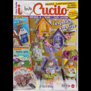 I Love Cucito - n. 29 - bimestrale - giugno - luglio 2019 - + Crea le tue shopper & bag - 2 riviste