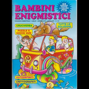 Bambini Enigmistici - n. 104 - bimestrale - luglio - agosto 2019 - 52 pagine tutte a colori