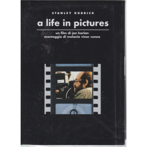 I Dvd Fiction Di Sorrisi n. 15 - A Life In Picture - Stanley Kubrick collection - 13° dvd - 4/6/2019
