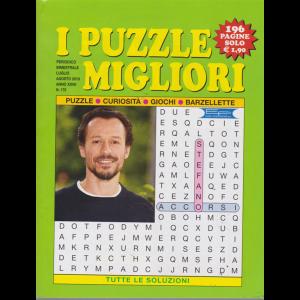 I puzzle migliori - n. 170 - bimestrale - luglio -agosto 2019 - 196 pagine