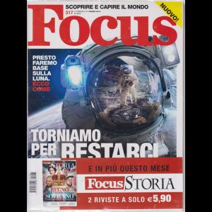 Focus + Focus Storia - n. 317 - 21 febbraio 2019 - marzo 2019 - mensile - 2 riviste
