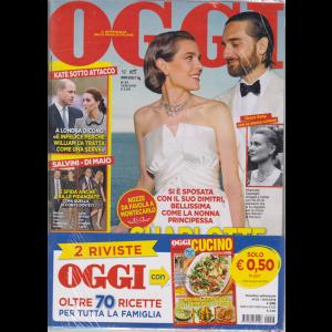 Oggi + oggi cucino - n. 23 - 13/6/2019 - settimanale - 2 riviste