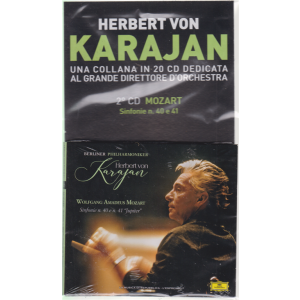 Herbert Von Karajan - Mozart - Sinf. N.40, e 41 - 2° CD - 5/6/2019 -