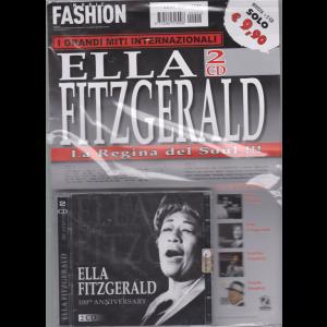 Music Fashion - Ella Fitzgerald   rivista + 2 cd - La regina del soul!!!