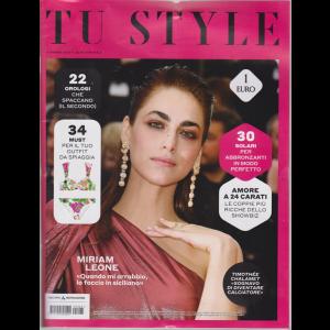 Tu Style - n. 25 - 11 giugno 2019 - settimanale