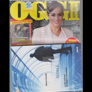 Oggi + il libro Aldilà - di Roberto Giacobbo - n. 8 - 28/2/2019 - settimanale  - rivista + libro