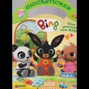 Giocasticker - Bing- n. 24 - 7/6/2019 - bimestrale - giugno - luglio 2019