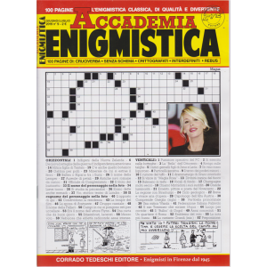Accademia Enigmistica - n. 9 - giugno - luglio 2019 - bimestrale -