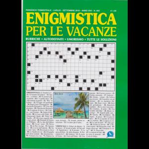 Enigmistica per le vacanze - n. 502 - trimestrale - luglio - settembre 2019 -