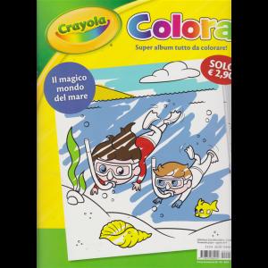 Crayola Colora - Il Magico Mondo Del mare - n. 2  - trimestrale - giugno - agosto 2019