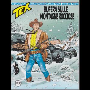 Tex Nuova Ristampa - Bufera Sulle Montagne rocciose - n. 446 - mensile - giugno 2019 -