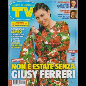 Sorrisi E Canzoni Tv - n. 24 - 18 giugno 2019 - settimanale