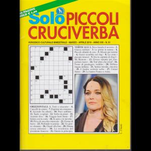 Solo Piccoli Cruciverba - n. 91 - bimestrale - marzo - aprile 2019 - 68 pagine