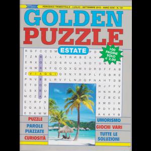 Golden Puzzle  estate- n. 131 - trimestrale - luglio - settembre 2019 - 100 pagine