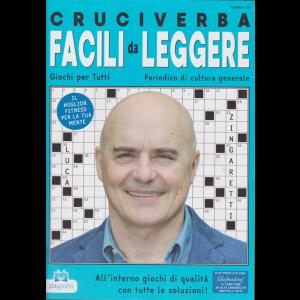 Cruciverba facili da leggere - n. 19 - bimestrale - 21/2/2019 - Luca Zingaretti