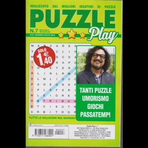 Puzzle Play - n. 7 - bimestrale - giugno - luglio 2019 -