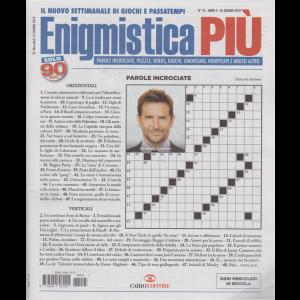 Enigmistica Piu' - n. 25 - settimanale - 25 giugno 2019