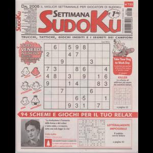 Settimana Sudoku - n. 723 - settimanale - 21 giugno 2019 -