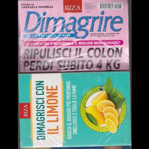 Dimagrire + il libro Dimagrisci con il limone - n. 203 - mensile - marzo 2019 -