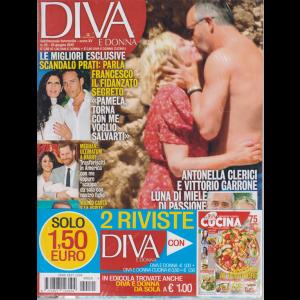 Diva E Donna+ - Cucina - n. 25 - 25 giugno 2019 - settimanale femminile - 2 riviste