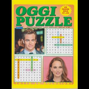 Oggi Puzzle - n. 260 - bimestrale - luglio - agosto 2019 - 68 pagine