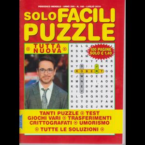 Solo Facili Puzzle - n. 188 - mensile - luglio 2019 - 100 pagine