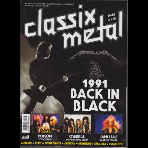 Classix! Metal - 1991 Back In Black - n. 36 - marzo - aprile 2019 - bimestrale