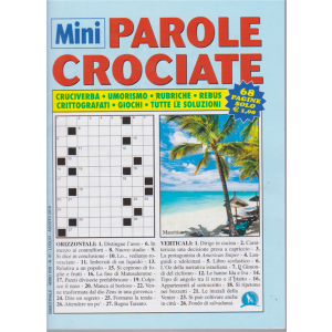 Mini Parole Crociate - n. 41 - bimestrale - luglio - agosto 2019 - 68 pagine