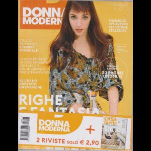 Donna Moderna + Casa Fscile - n. 27 - 20 giugno 2019 - settimanale - 2 riviste