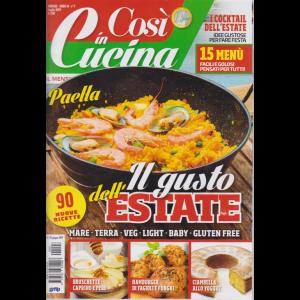 Cosi' In Cucina - n. 7 - mensile - luglio 2019 -
