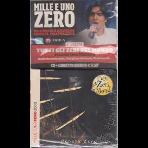 Cd Musicali Di Sorrisi n. 9 - settimanale - Mille e uno Zero - Tutti gli zeri del mondo - cd + libretto -