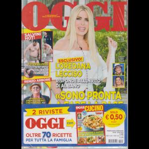 Oggi + Oggi cucino - n. 25 - 27/6/2019 - settimanale - 2 riviste