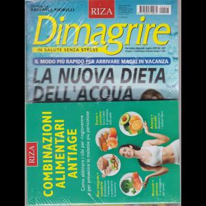 Dimagrire  + il libro Combinazioni alimentari antiage - n. 207 - luglio 2019 - mensile -